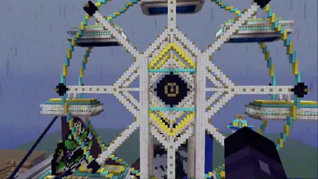 Dubstep Beat Box Minecraft Ferris Wheel Xbox 360 YouTube