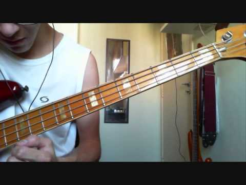 Rage Against The Machine - Guerrilla Radio [bass cover by Renan]