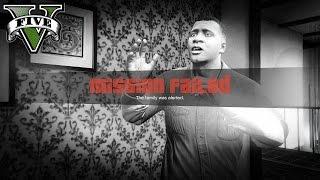 GTA 5 PC Gameplay - Funny Mission Fail [1080p HD]