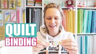 Binding pencil quilt
