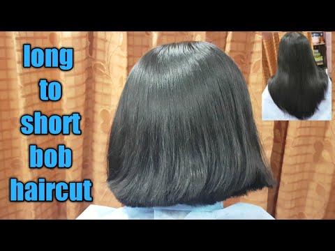 Perfect Bob haircut/Easy Bob haircut/Bob haircut step by step/long to short Bob haircut/bob haircut
