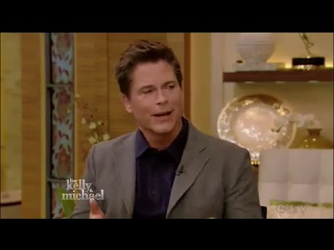 ROB LOWE interview ! Live with Kelly & Michael 28 Sept 2015