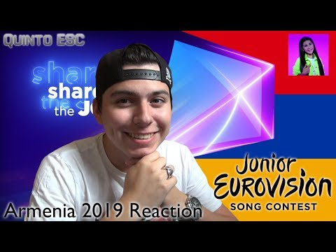 Karina Ignatyan - Colours Of Your Dream Reaction - Junior Eurovision 2019 (Armenia) - Quinto ESC