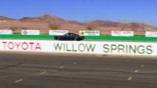 Mustang at Willow Springs Raceway