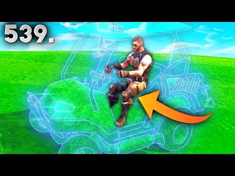 CRAZY INVISIBLE CART..!! Fortnite Daily Best Moments Ep.539 (Fortnite Battle Royale Funny Moments)