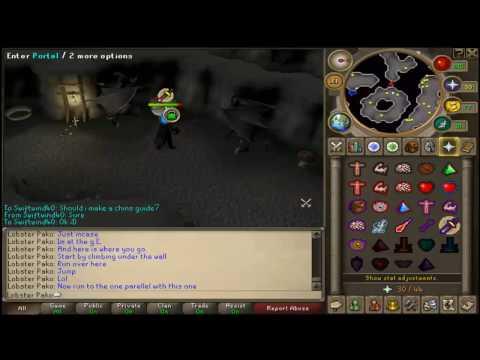 Runescape range guide-Chinning Mummies-100k-250k xp per hour! Amazing XP P2P