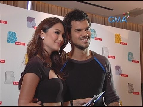 Heart Evangelista's heart-to-heart talk with Taylor Lautner