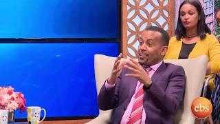 አበበ ፈለቀ አዲስ ስለሚጀምረዉ አዝናኝ ፕሮግራም ፍሬ ነገር በቅዳሜ ከሰአት ጋር /Kidamen Keseat With Abebe Feleke