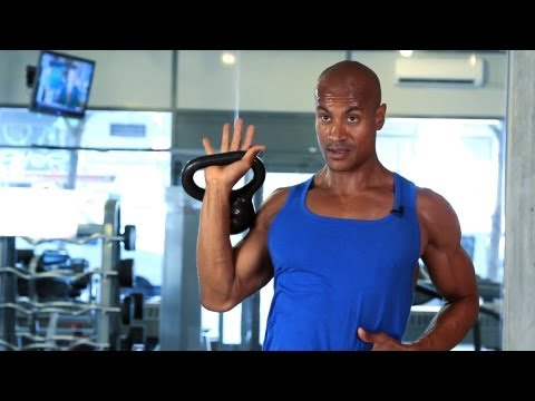 How to Do Kettlebell Exercises | Gym Workout Image 1