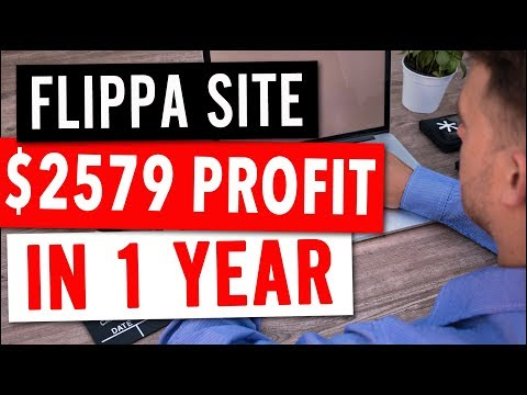 AdSense Flippa Site – $2579 Net Profit in 12 Months on Investment Site! (138% Annual ROI)