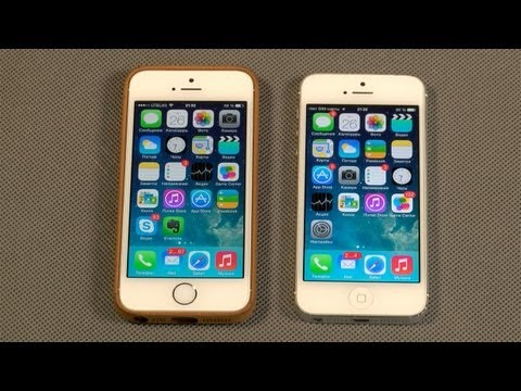 iPhone 5S и iPhone 5 - Сравнение скорости и производительности