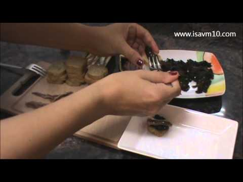 RECETA: Cocinar con Algas: Canapés