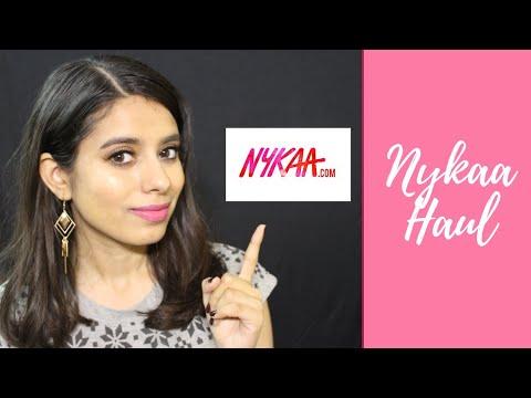 NYKAA HAUL 2018 - wetnwild , nyx , maybelline etc | Aarthi Raman