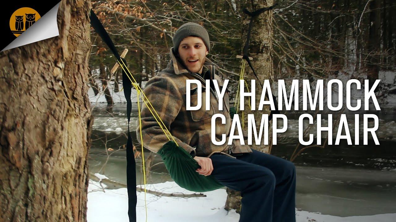 Diy Hammock Camp Chair Prototype Youtube