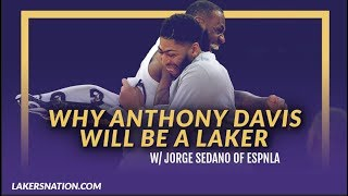 Lakers Podcast: Jorge Sedano Joins to Talk Anthony Davis to the Lakers & Status Of The Young Core