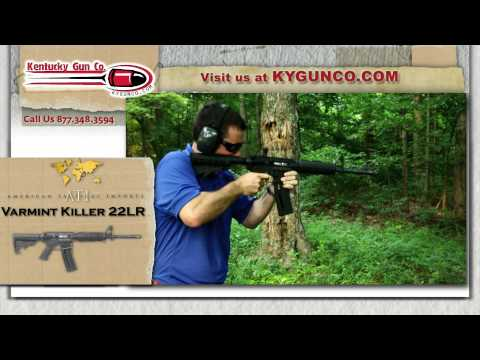 American Tactical Imports Varmint Killer 22LR Review and Range Shoot