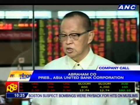 Company Call: Asia United Bank