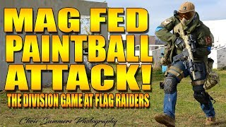 MAG FED PAINTBALL ATTACK!!!!
