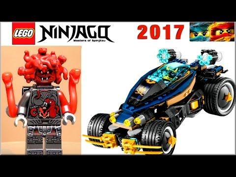 LEGO Ninjago 70625 Самурай VXL. Обзор Лего Ниндзяго 2017 года