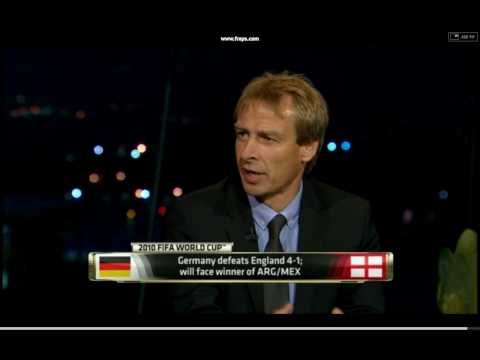 Jurgen Klinsmann on England