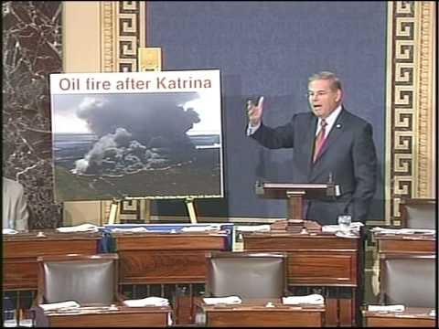 Menendez speech on Offshore Drilling