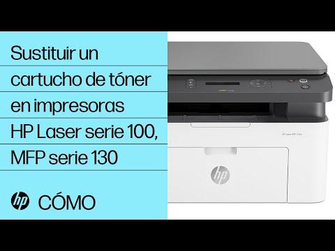 Sustituir un cartucho de tóner en impresoras HP Laser serie 100, MFP serie 130   HP Laser @HPSupport