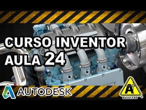 Aula 24 | Inventor 2013 | Design Accelerator - Eixos