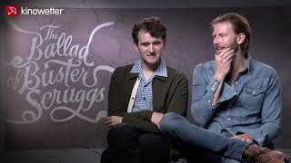 Interview Harry Melling & Bill Heck THE BALLAD OF BUSTER SCRUGGS