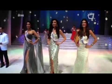 Coronación de Nastassja Bolívar - Miss Nicaragua 2013
