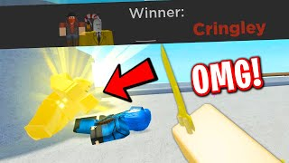 ANT WINS A ROBLOX ARSENAL GAME AGAIN