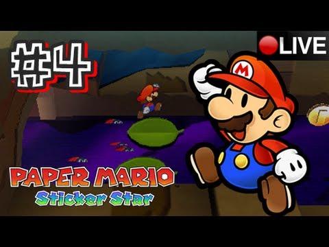 Paper Mario: Sticker Star 3DS - Part 4 LIVESTREAM