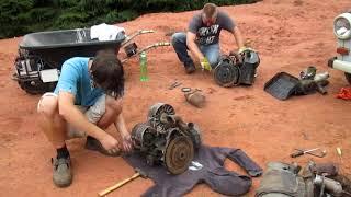 Trabant OFF - Oprava Trabanta, problém s novým motorem, nastartuje to?