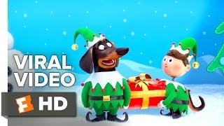 The Secret Life of Pets VIRAL VIDEO - Holiday Video Greeting (2016) - Animated Movie HD - Продолжительность: 98 секунд