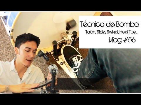 Técnica de Bombo!: Talón, Slide, Swivel y Heel Toe!!