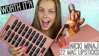 MAC x Nicki Minaj Nude Collection Swatches | Worth it?!