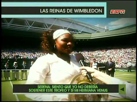 Court Central- las reinas de wimbledon Venus y Serena Williams (en 1 Minuto)