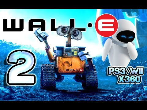Wall-E Walkthrough Part 2 (PS3, X360, Wii) Level 2 ~ Directive
