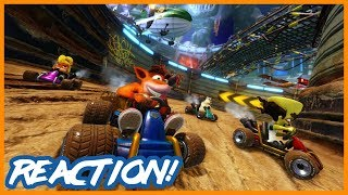 Crash Team Racing: Nitro Fueled Trailer (The Game Awards 2018) | Reaction