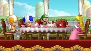 New Super Luigi U Walkthrough - Part 1 - Acorn Plains