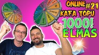 1000 ELMAS YEDİK! | ONLINE KAFA TOPU #21