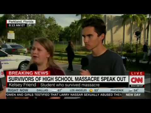 Alisyn Camerota interviews Stoneman Douglas High School students