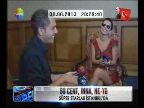 İnna Türkiye'de show haber