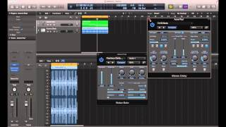 Logic Pro X - Rhythmic Gating and Stutter Effects