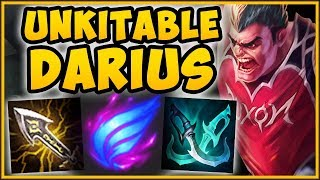 NO ONE IS SAFE FROM THIS DARIUS! MAX MOVE SPEED DARIUS TOP SEASON 9 GAMEPLAY! - League of Legends