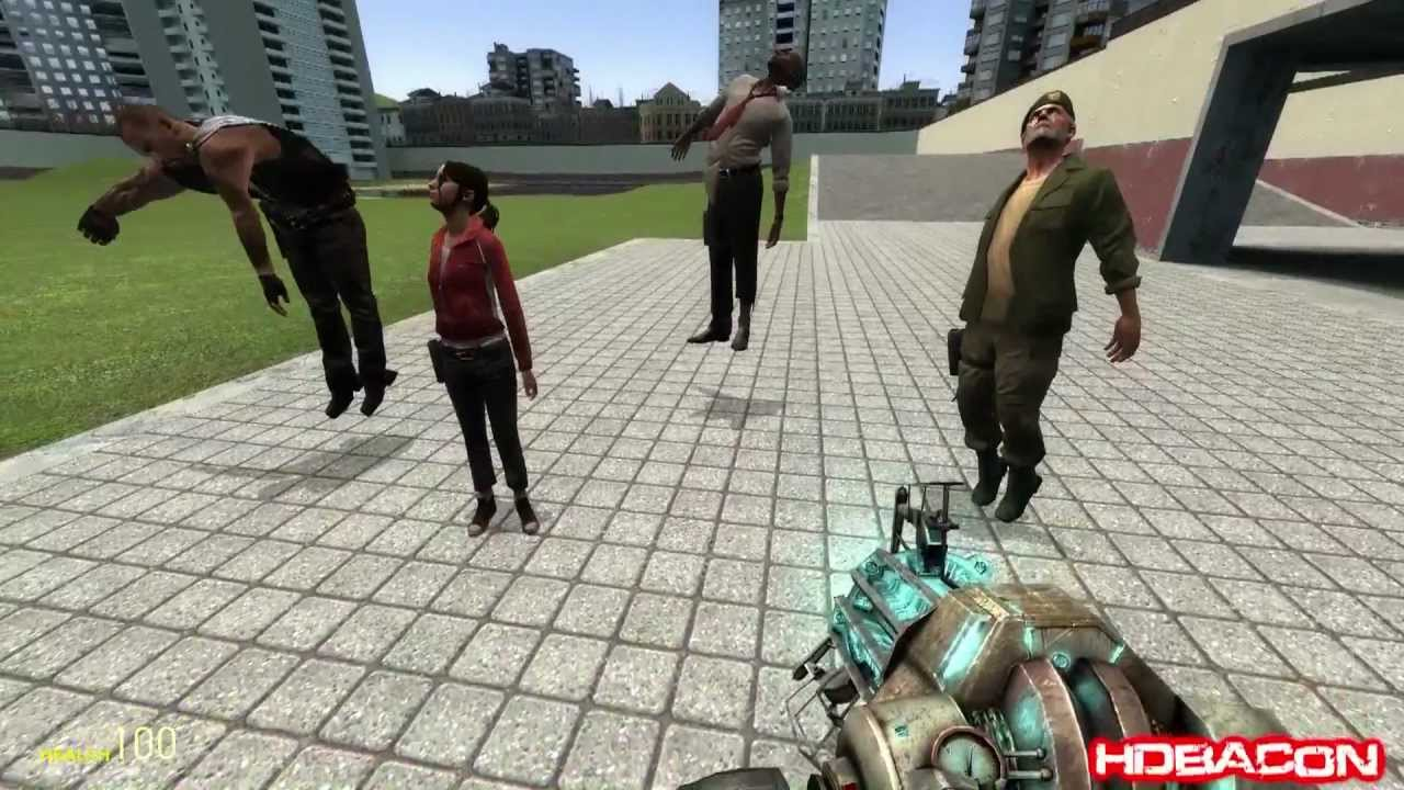 how to fix character errors on garrys mod