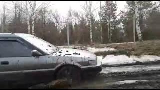 Toyota Sprinter Carib  4веzде - 1ый выезд ))