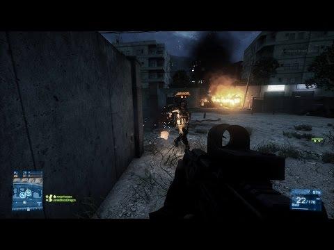 111 KILLS (L85) Battlefield 3: TDM - Tehran Highway W/ Live Commentary