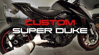 Custom Super Duke Walkaround