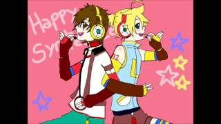 [Vocaloid] Happy Synthesizer [YuuETo x Len Kagamine]