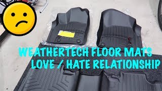 Jeep Trackhawk Weathertech Floor Mats - Hate them ??